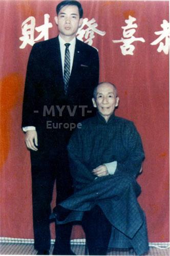 Zung Si - Patriarca Ip Man con el Patriarca Moy Yat