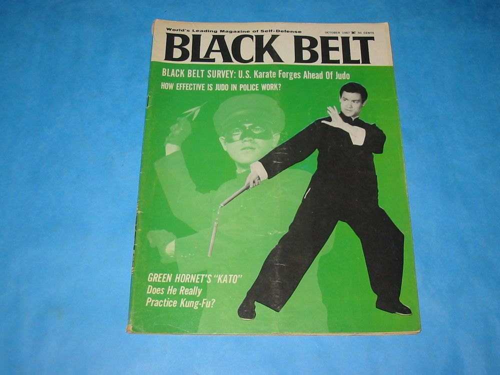 Black Belt Kato el Kung fu de Bruce Lee