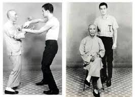 Bruce Lee y el Patriaca Ip Man